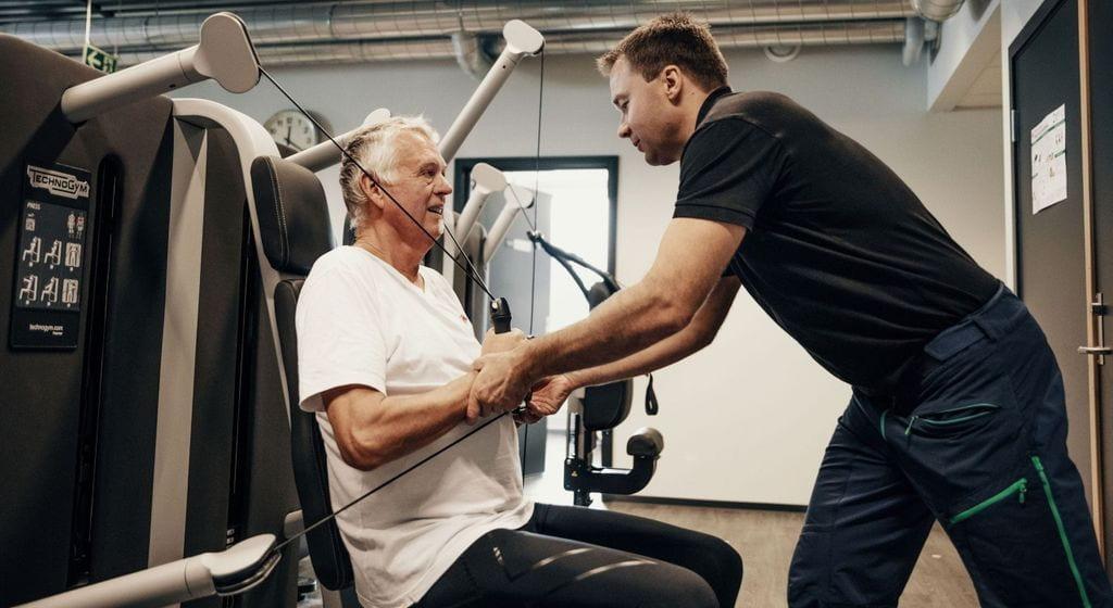 Fysioterapia potilaasta jäseneksi