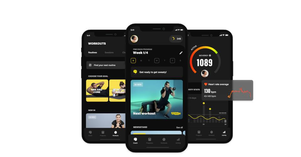 Uusi Technogym App treenisovellus auttaa saavuttamaan tavoitteet nopeammin
