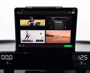 MyRun jooksulindi Live rakendus tahvelarvuti ekraanil