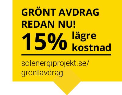 Grönt ROT-avdrag för dig som investerar i solceller och batterier!