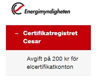 Elcertifikat avskaffas för små elproducenter