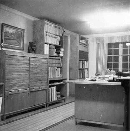 Interiören i expeditionen 1951.